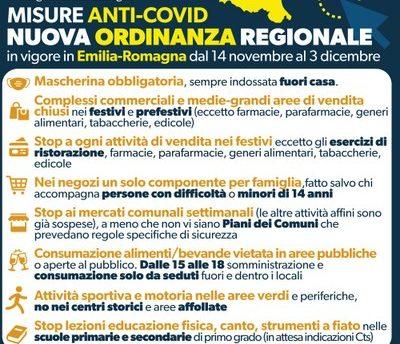 nuova ordinanza regione emilia romagna